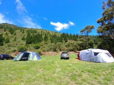 Camping at Catchpool Valle20180120_142640